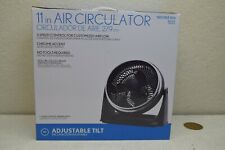 Electric Personal Desk Cooling Fan Air Circulator High Velocity 11 in. Compact