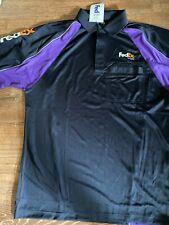 FedEx Ground Transport Short Sleeve Shirt sz L embroidered sleeve