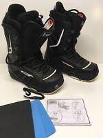 Burton Invader Imprint 1 One Snowboarding Boots Mens Black Size 7 US