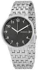 Skagen SKW6247 Ancher Casual Gunmetal Dial Stainless Steel Men's Watch
