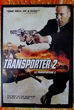 Transporter 2 (DVD, 2006; Dual Side) Wide and Full Screen Audi Car Movie Film G!