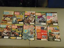 LOT OF 10 1991 SUPER STOCK AND DRAG ILLUSTRATED MAGAZINES,PRIVATEERS,EDDIE HILL,