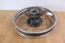 1980 YAMAHA MX175 MX 175 Rear Wheel Rim Hub