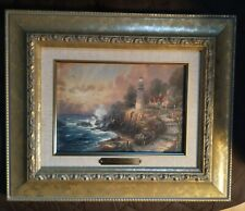 """Accent Prints by Thomas Kinkade """"The Light of Peace"""" Framed"""