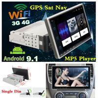 Car Bluetooth Sat Nav GPS Navigation System Stereo Radio MP5 Player Android 9.1