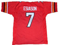 BOOMER ESIASON AUTOGRAPHED SIGNED MARYLAND TERRAPINS #7 THROWBACK JERSEY JSA