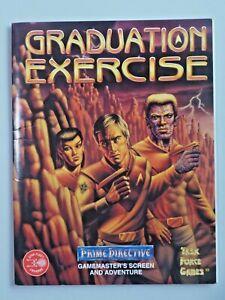 GRADUATION EXERCISE Task Force Games Prime Directive RPG Adventure 7427