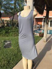 MM6 MAISON MARTIN MARGIELA ASYMMETRIC STRETCH SHEATH CASUAL DRESS Sz M