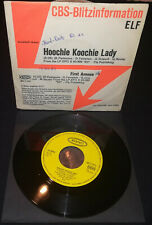 "ELF - 'Hoochie Koochie Lady' / 1972 / 7"" / Promo / Germany / Dio / Rainbow"