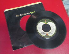 THE BEATLES • Something / Come Together 45 vinyl Record Apple 2654 black sleeve