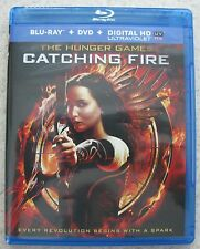 Blu-Ray The Hunger Games CATCHING FIRE Disc Box & Sleeve Art NEW