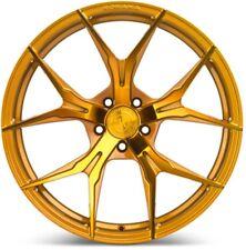20x12 Rohana RFX5 5x114 +45 Gloss Gold Rims (Set of 4)