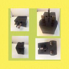 Vintage Bakelite English 13 Amp Two Way Electrical 3 Pin Plug Adaptor Plug