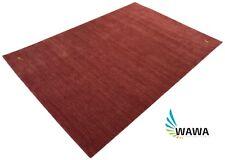 Handloom Gabbeh , Lori Buff 170x240 cm Rot Rosa Handgewebt Teppich 100% Wolle