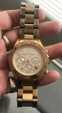 Marc Jacobs Womens MBM3156 watch. Stainless Steal with Rose gold dial