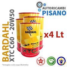 4 LITRI DI OLIO MOTORE ORIGINALE BARDAHL XTC 20W50 C60 313040