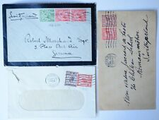 UK GREAT-BRITAIN LONDON 1914 1929 COVERS UNITED KINGDOM STAMPS POSTAL HISTORY