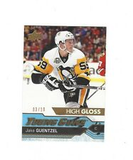 2016-17 SP Authentic Jake Guentzel Young Guns High Gloss RC SP #ed 3/10...Cup