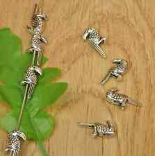 30pcs Charm Tibetan silver bird  Beads Spacer Pearls Charms Beads 20mm