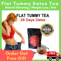28 Day Flat Tummy Detox Tea Weight Loss Slimming Herbal Fat Bloating All Natural