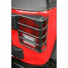 Jeep Wrangler Jk 07-17 Black Tail Light Euro Guard Pair  X 11226.02
