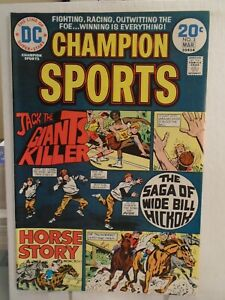 DC CHAMPION SPORTS #3 (1974) Last Issue, Joe Simon, Gerry Grandenetti