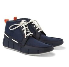 SWIMS Boat Shoes Sport Loafer High Top Shoe BLUE Size 11 (EURO 45) $196.00