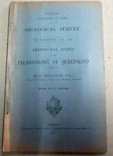Palaeontology of Queensland. 1901