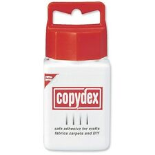 125ml Copydex Adhesive Glue Craft Fabric Carpets DIY Home Safe Multi-Use White