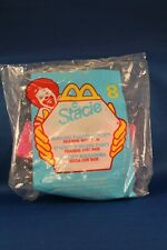Vintage McDonalds Toy Giveaway Bowling Party Stracie w/ Base #8 NIP