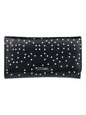 ROXY WOMENS PURSE.MY LONG EYES BLACK SPOTTY DOTTY FAUX LEATHER WALLET 8W 78 KVJ8