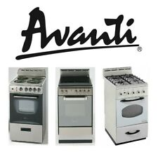 "Avanti Products - 20"" to 24"" Ranges, Gas, Electric Coil, and Electric Glass Top"