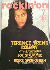 rockin'on Japan Music Magazine 7/1988 Terence Trent D'arby Bruce Springsteen