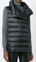 New Ralph lauren black label Funnelneck white goose Down Vest top women's M $750