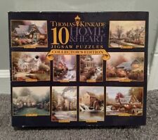 Ceaco Thomas Kinkade 10 Home & Heart Jigsaw Puzzles Collectors Edition 2005
