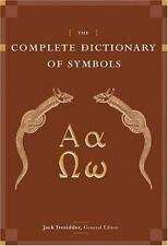 The Complete Dictionary of Symbols, Tresidder, Jack, Good Book