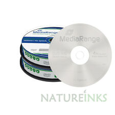 20 MediaRange DVD-RW 4.7GB 120 minutes 4x rewritable Retail Cakebox MR450