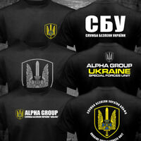 New Spetsnaz Ukraine Special Forces Alpha Group Military T shirt