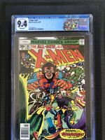 X-Men 107 CGC 9.4 KEY 1st Full Starjammers &🔥 Gladiator Limited label NEWSSTAND