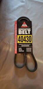 Serpentine Belt AGS SB40430 NOS