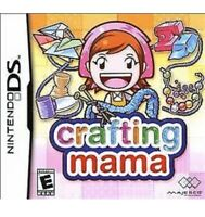 Crafting Mama Nintendo DS/3DS Kids Game For Girls/Boys 1 Complete