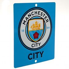 Manchester City F.C - Metal Window Sign (SQ) - GIFT / PLAQUE
