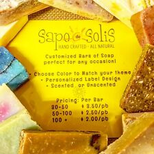 Custom Party Favor Soaps