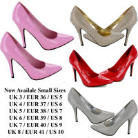 NEW WOMEN'S LADIES SEXY PARTY CROSS DRESSER HEEL HIGH COURT SHOES SIZE 3 TO 8 UK
