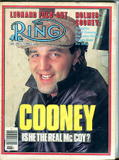 The Ring Boxing Magazine August 1982 Gerry Cooney EX 060616jhe