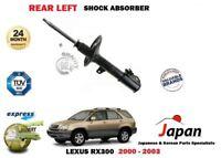 Per Lexus Rx 300 3.0 4x4 2000-2003 Nuovo Posteriore Lato Sinistro Ammortizzatore