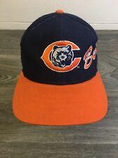 Chicago Bears Snapback Hat 90s Vtg Proline Apex One Script NFL Football Cap
