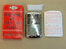 Vintage Sportsman Hand Warmer Original Box