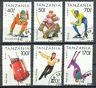 TANSANIA / Sport  1994 Mi.Nr. 1705 - 1710 o gestempelt