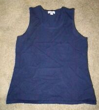 DENIM & CO STRETCH KNIT SLEEVELESS TANK~M~NWT